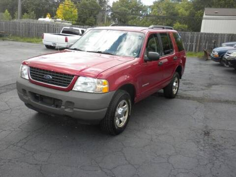 2002 Ford Explorer for sale at MASTERS AUTO SALES in Roseville MI
