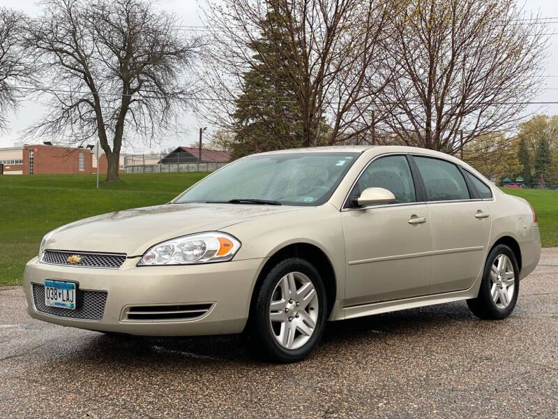 2012 Chevrolet Impala for sale at Tonka Auto & Truck in Mound MN