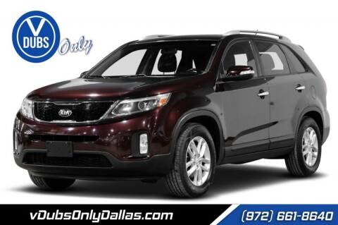 2014 Kia Sorento for sale at VDUBS ONLY in Dallas TX