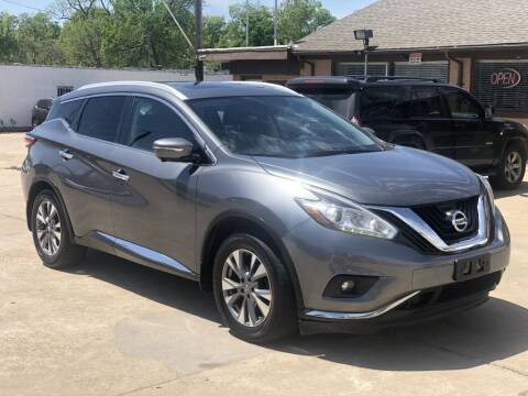 2015 Nissan Murano for sale at Safeen Motors in Garland TX