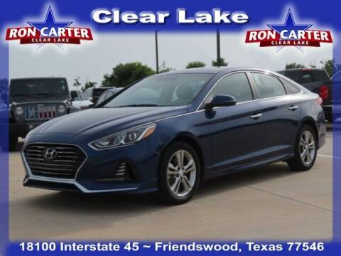 2018 Hyundai Sonata for sale at Ron Carter  Clear Lake Used Cars in Houston TX