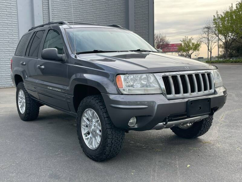 2004 Jeep Grand Cherokee for sale at COUNTY AUTO SALES in Rocklin CA