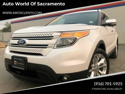 2011 Ford Explorer for sale at Auto World of Sacramento Stockton Blvd in Sacramento CA