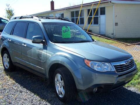 2009 Subaru Forester for sale at B & J Auto Sales in Tunnelton WV