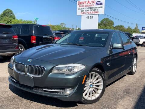 2012 BMW 5 Series for sale at Drive Auto Sales & Service, LLC. in North Charleston SC