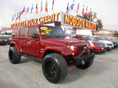 2011 Jeep Wrangler Unlimited for sale at Giant Auto Mart 2 in Houston TX
