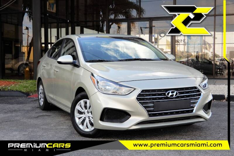 2019 Hyundai Accent for sale at Premium Cars of Miami in Miami FL