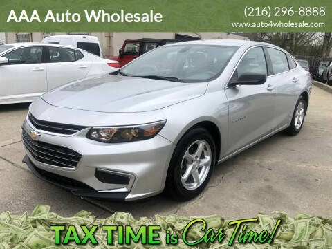 2017 Chevrolet Malibu for sale at AAA Auto Wholesale in Parma OH