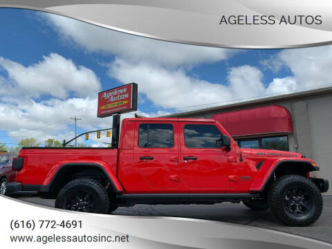 2020 Jeep Gladiator for sale at Ageless Autos in Zeeland MI