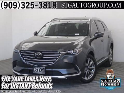 2018 Mazda CX-9 for sale at STG Auto Group in Montclair CA