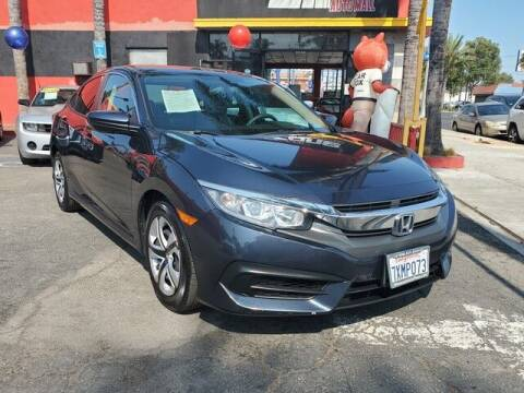 2016 Honda Civic for sale at Carzone Automall in South Gate CA