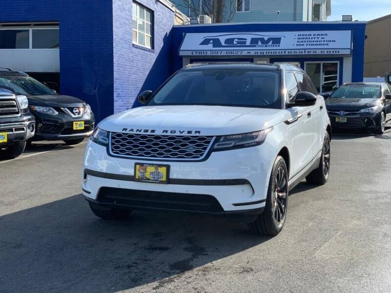 2018 Land Rover Range Rover Velar for sale at AGM AUTO SALES in Malden MA