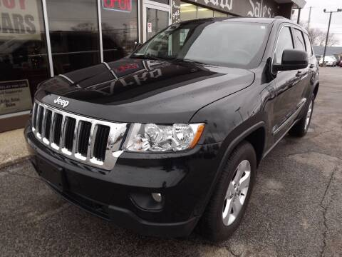 2012 Jeep Grand Cherokee for sale at Arko Auto Sales in Eastlake OH
