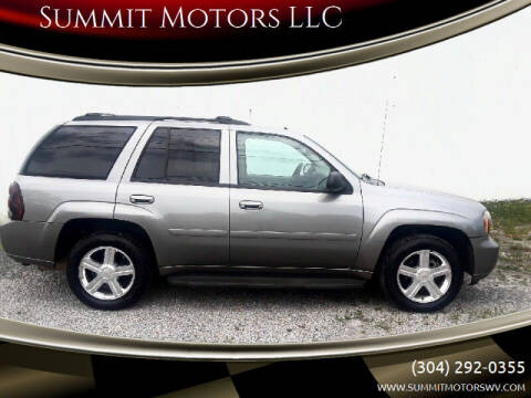 2008 Chevrolet TrailBlazer for sale at Summit Motors LLC in Morgantown WV
