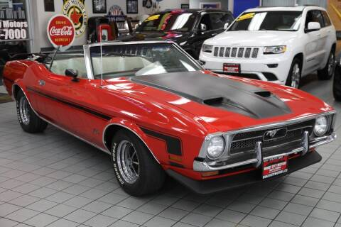 1972 Ford Mustang for sale at Windy City Motors in Chicago IL