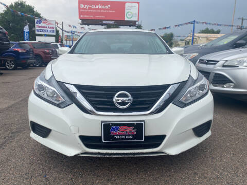 2017 Nissan Altima for sale at Nations Auto Inc. II in Denver CO