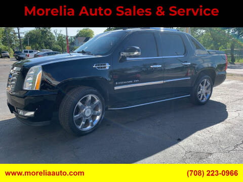 2009 Cadillac Escalade EXT for sale at Morelia Auto Sales & Service in Maywood IL