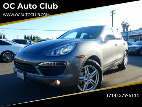 2013 Porsche Cayenne for sale at OC Auto Club in Midway City CA