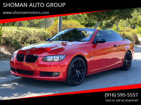 2007 BMW 3 Series for sale at SHOMAN AUTO GROUP in Davis CA