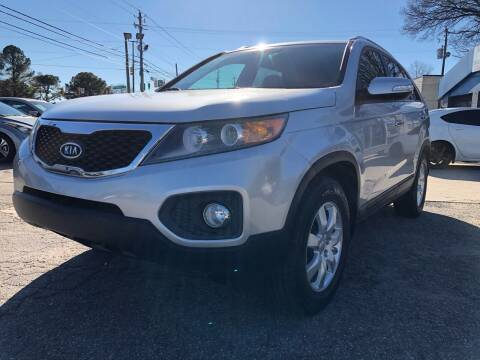 2013 Kia Sorento for sale at Capital Motors in Raleigh NC