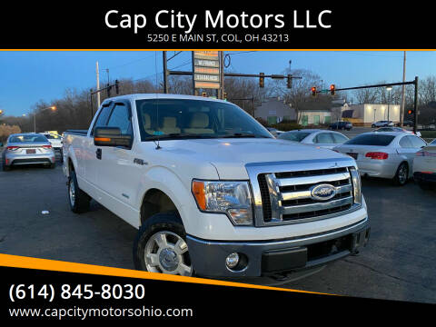 2011 Ford F-150 for sale at Cap City Motors LLC in Columbus OH