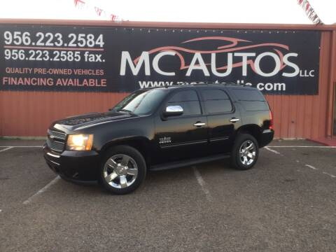 2011 Chevrolet Tahoe for sale at MC Autos LLC in Pharr TX