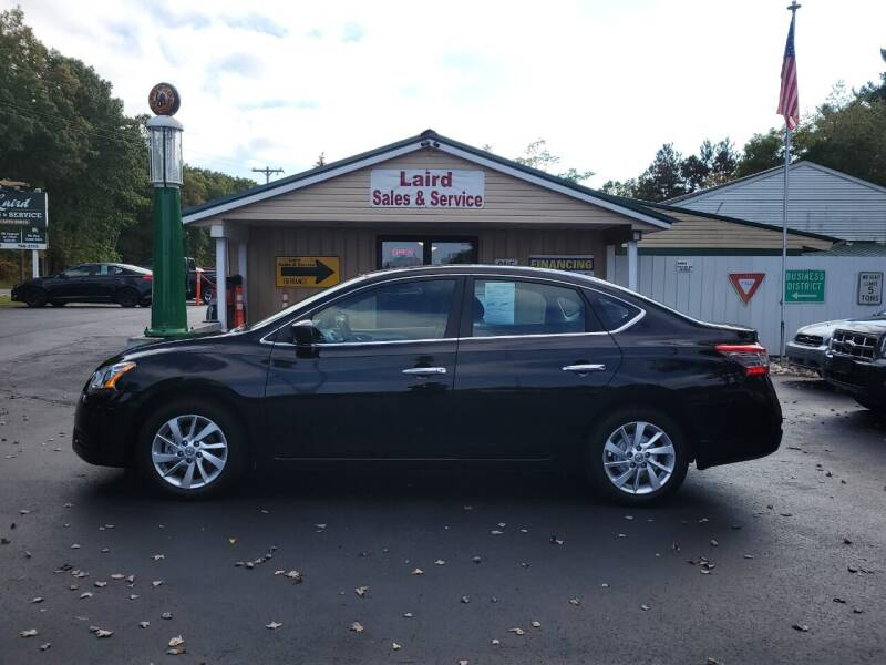 2013 Nissan Sentra for sale at LAIRD SALES AND SERVICE in Muskegon MI
