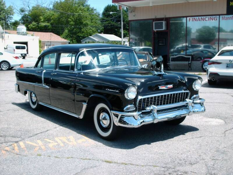 1955 Chevrolet Bel Air for sale at Bill Caito's Mann Motors in Warwick RI