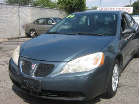 2006 Pontiac G6 for sale at JERRY'S AUTO SALES in Staten Island NY