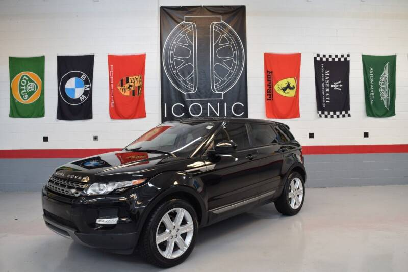 2015 Land Rover Range Rover Evoque for sale at Iconic Auto Exchange in Concord NC