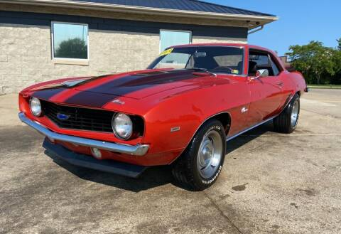 1969 Chevrolet Camaro for sale at Auto House of Bloomington in Bloomington IL