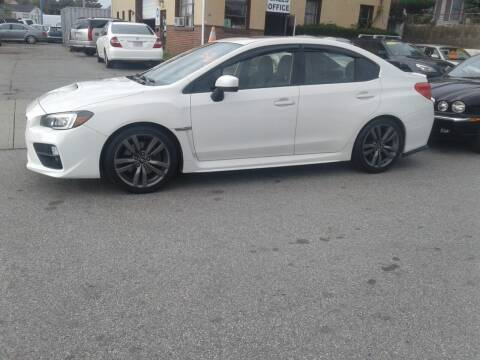 2016 Subaru WRX for sale at Nelsons Auto Specialists in New Bedford MA