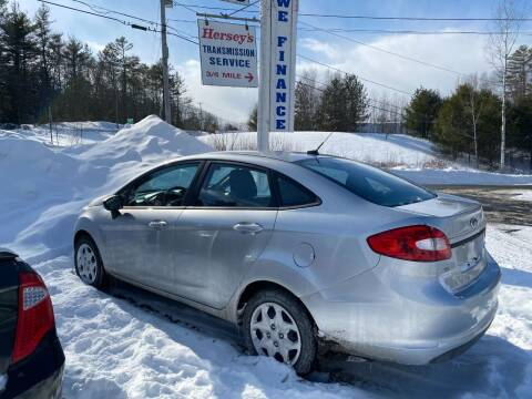 2012 Ford Fiesta for sale at Mascoma Auto INC in Canaan NH