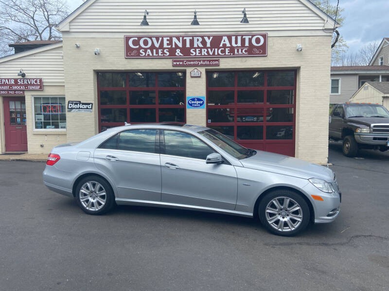 2012 Mercedes-Benz E-Class for sale at COVENTRY AUTO SALES in Coventry CT