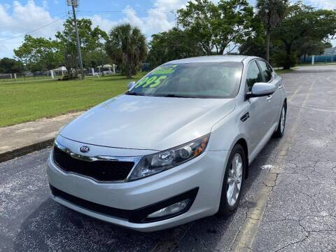 2013 Kia Optima for sale at Lamberti Auto Collection in Plantation FL
