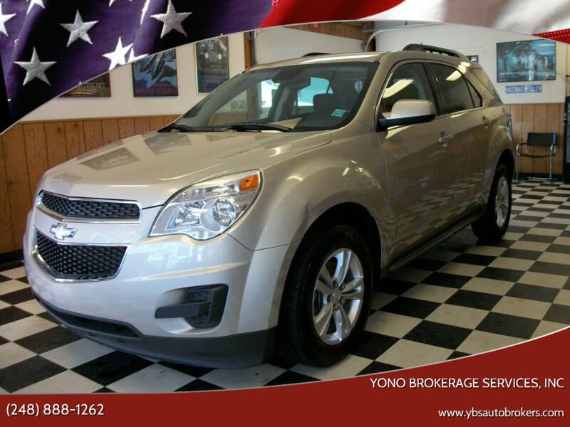 2015 Chevrolet Equinox for sale at Yono Brokerage Services, INC in Farmington MI