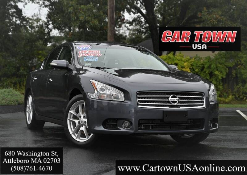2010 Nissan Maxima for sale at Car Town USA in Attleboro MA