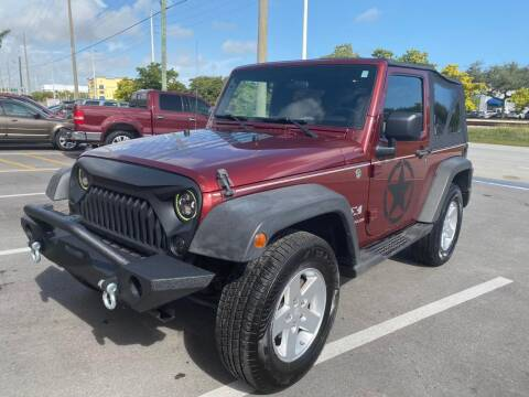 2008 Jeep Wrangler for sale at UNITED AUTO BROKERS in Hollywood FL