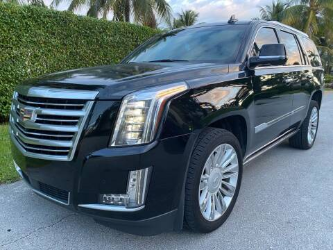 2015 Cadillac Escalade for sale at American Classics Autotrader LLC in Pompano Beach FL