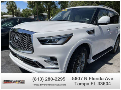 2021 Infiniti QX80 for sale at Drive Now Motors USA in Tampa FL