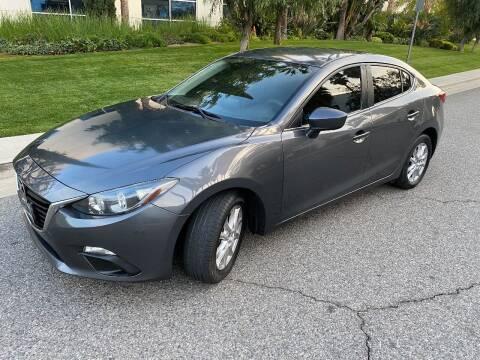2016 Mazda MAZDA3 for sale at Donada  Group Inc in Arleta CA