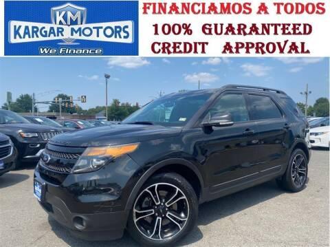 2015 Ford Explorer for sale at Kargar Motors of Manassas in Manassas VA