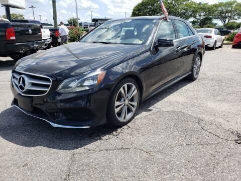 2016 Mercedes-Benz E-Class for sale at International Auto Wholesalers in Virginia Beach VA