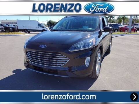 2021 Ford Escape Hybrid for sale at Lorenzo Ford in Homestead FL