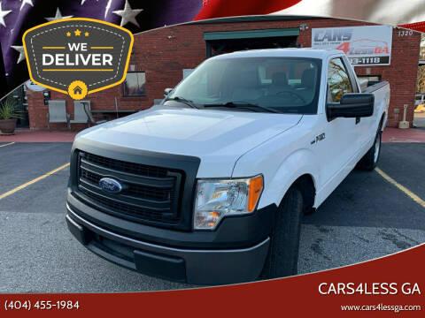 2014 Ford F-150 for sale at Cars4Less GA in Alpharetta GA