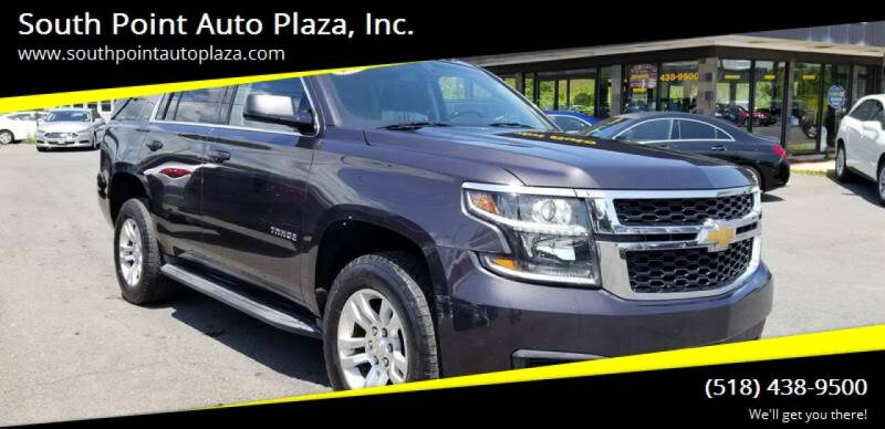 2015 Chevrolet Tahoe for sale at South Point Auto Plaza, Inc. in Albany NY