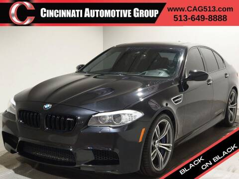 2013 BMW M5 for sale at Cincinnati Automotive Group in Lebanon OH