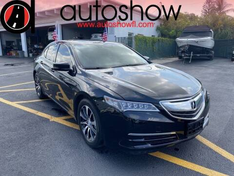 2017 Acura TLX for sale at AUTOSHOW SALES & SERVICE in Plantation FL
