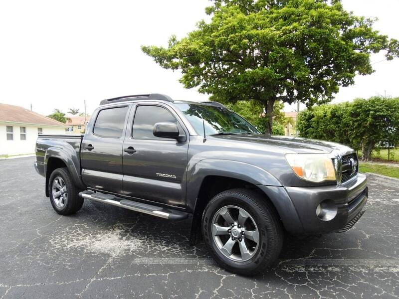 2011 Toyota Tacoma for sale at SUPER DEAL MOTORS 441 in Hollywood FL