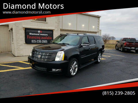 2013 Cadillac Escalade ESV for sale at Diamond Motors in Pecatonica IL